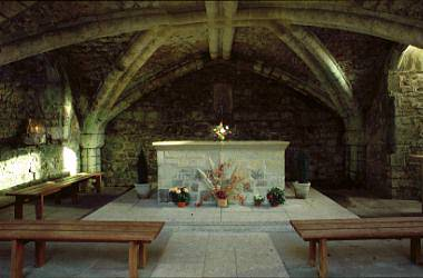Our Chapel is the Abbey Crypt of Glastonbury, one of the most ancient, continuously used sacred sites in the Western World